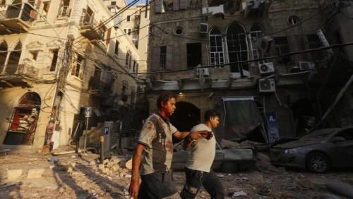 Apocalipsa în imagini la Beirut7