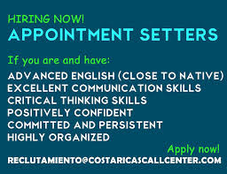 APPOINTMENT SETTING JOB COSTA RICA'S CALL CENTER