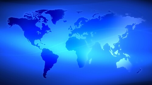 Earth4 Abstract News Motion Background Video Loop SampleStill